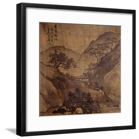 Album Painting by an Unknown Artist--Framed Art Print