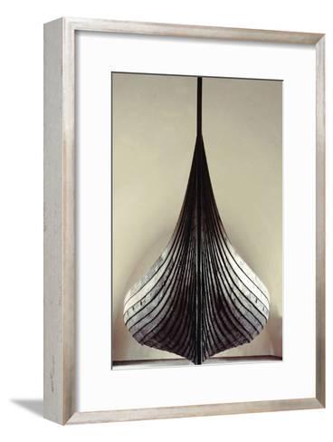 The Gokstad Ship--Framed Art Print