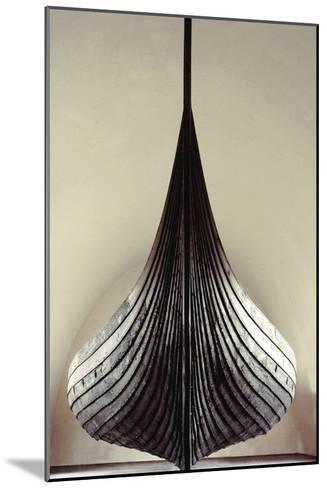 The Gokstad Ship--Mounted Giclee Print