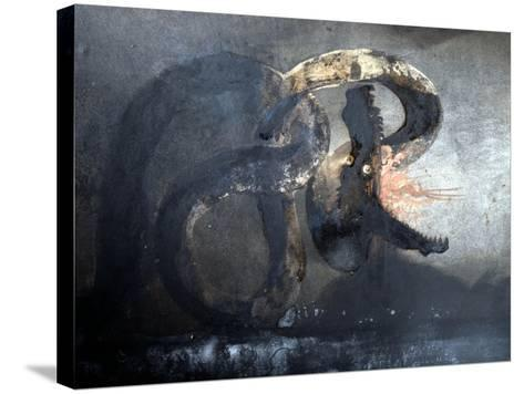 As Well as a Prolific Writer Victor Hugo Was a Prolific Painter, with the Majority of His…--Stretched Canvas Print