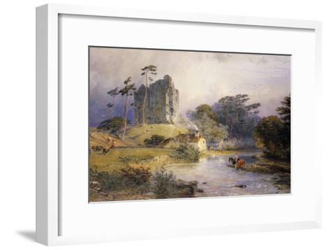Thirlwall Castle, Northumberland-Henry George Hine-Framed Art Print