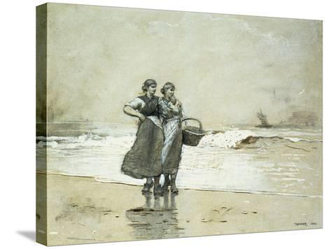 Blyth Sands, 1882-Winslow Homer-Stretched Canvas Print