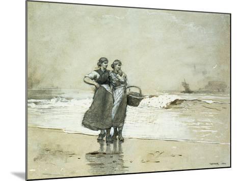 Blyth Sands, 1882-Winslow Homer-Mounted Giclee Print