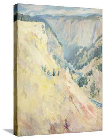 Yellowstone Park-John Henry Twachtman-Stretched Canvas Print