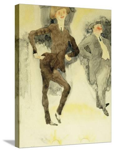 On Stage-Charles Demuth-Stretched Canvas Print
