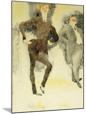 On Stage-Charles Demuth-Mounted Giclee Print