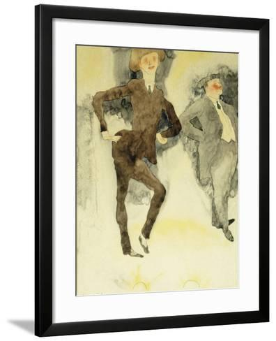 On Stage-Charles Demuth-Framed Art Print