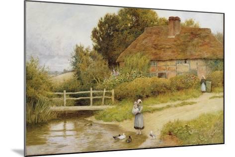 Watching the Ducks-Arthur Claude Strachan-Mounted Giclee Print