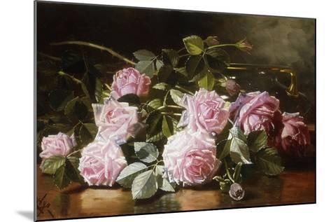Rainwashed Roses, 1898-Edward Chalmers Leavitt-Mounted Giclee Print
