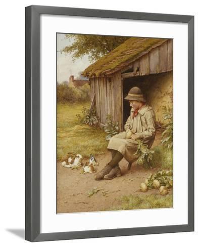 His Last Investment-Charles Edward Wilson-Framed Art Print