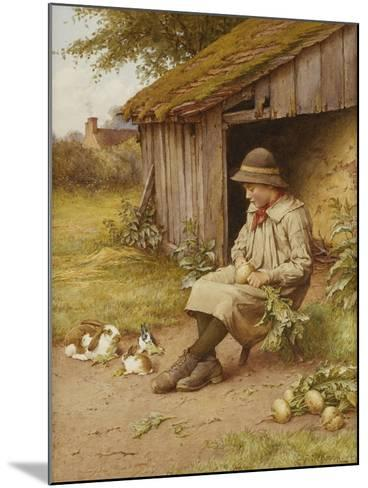 His Last Investment-Charles Edward Wilson-Mounted Giclee Print