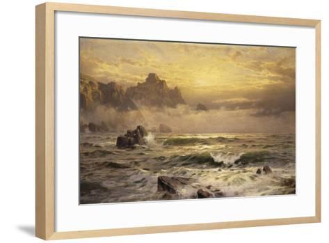 Mornings Mist, Guernsey, 1898-William Trost Richards-Framed Art Print