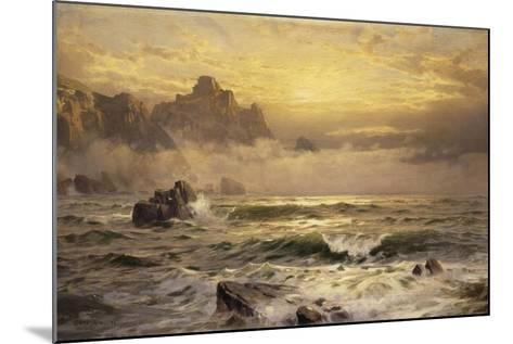 Mornings Mist, Guernsey, 1898-William Trost Richards-Mounted Giclee Print
