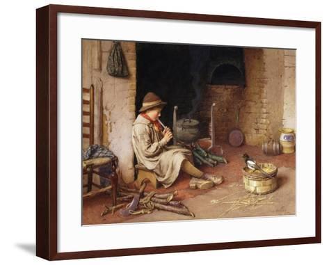 Idle Moments-Charles Edward Wilson-Framed Art Print