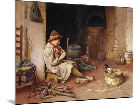 Idle Moments-Charles Edward Wilson-Mounted Giclee Print