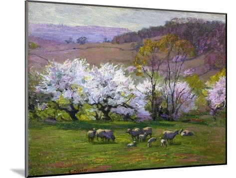 Blossom Time-Edward Henry Potthast-Mounted Giclee Print