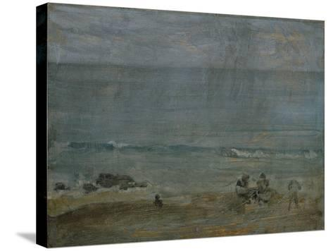 By the Shore, St-James Abbott McNeill Whistler-Stretched Canvas Print