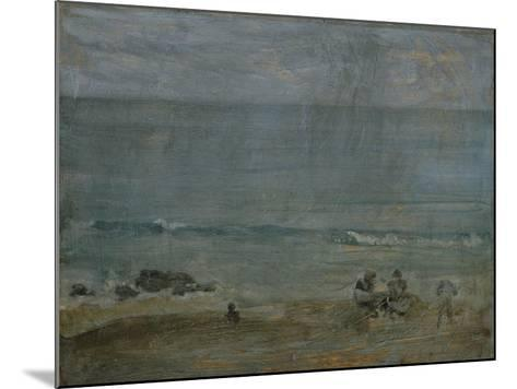 By the Shore, St-James Abbott McNeill Whistler-Mounted Giclee Print