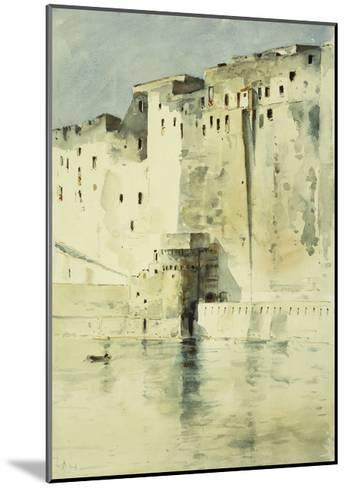 Old Fortress Naples-Childe Hassam-Mounted Giclee Print