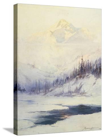 Winter Morning, Mount Mckinley, Alaska-Sidney Laurence-Stretched Canvas Print