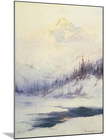 Winter Morning, Mount Mckinley, Alaska-Sidney Laurence-Mounted Giclee Print