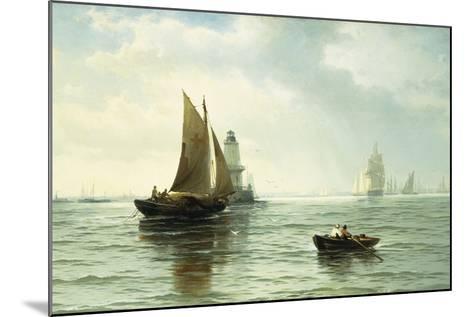 Around the Lighthouse-Edward Moran-Mounted Giclee Print