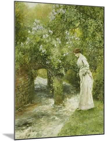 The Mill Stream in Spring-Arthur Hopkins-Mounted Giclee Print
