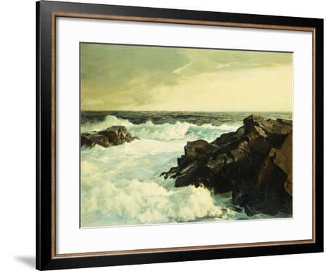 Hightide-Frederick Judd Waugh-Framed Art Print