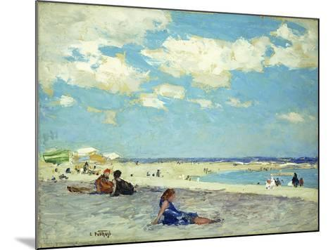 Long Beach-Edward Henry Potthast-Mounted Giclee Print