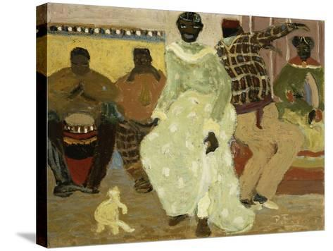 Candombe-Pedro Figari-Stretched Canvas Print