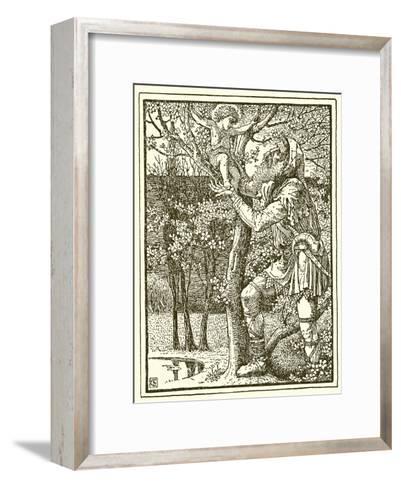 The Selfish Giant-Walter Crane-Framed Art Print