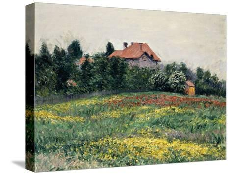 Normandy Countryside; Paysage En Normandie, 1884-Gustave Caillebotte-Stretched Canvas Print