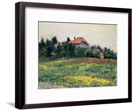 Normandy Countryside; Paysage En Normandie, 1884-Gustave Caillebotte-Framed Art Print