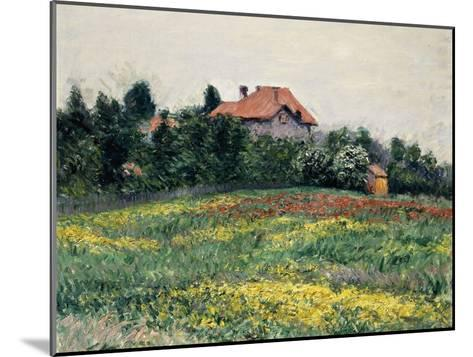 Normandy Countryside; Paysage En Normandie, 1884-Gustave Caillebotte-Mounted Giclee Print