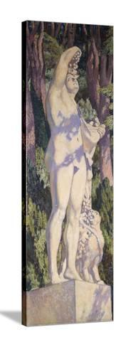 Bacchus, C. 1920-1924-Th?o van Rysselberghe-Stretched Canvas Print
