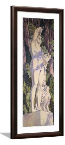Bacchus, C. 1920-1924-Th?o van Rysselberghe-Framed Art Print
