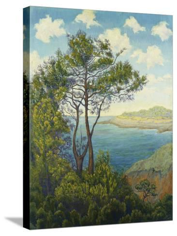 Seafront in Bretagne; Bord De Mer En Bretagne, C. 1898-Paul Ranson-Stretched Canvas Print