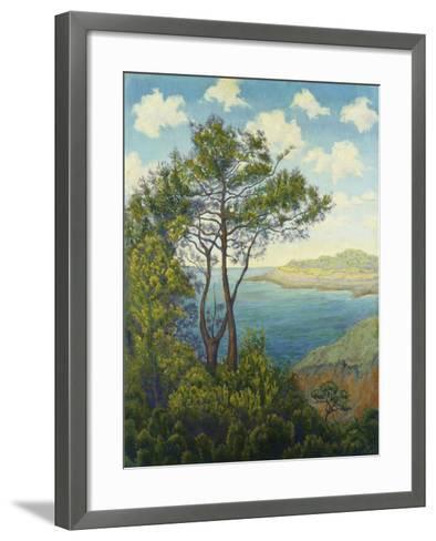 Seafront in Bretagne; Bord De Mer En Bretagne, C. 1898-Paul Ranson-Framed Art Print