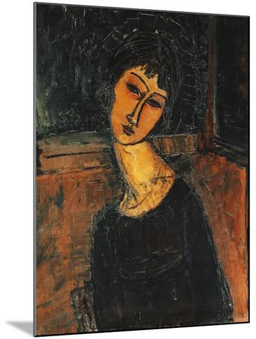Jeanne Hebuterne, C.1916-17-Amedeo Modigliani-Mounted Giclee Print