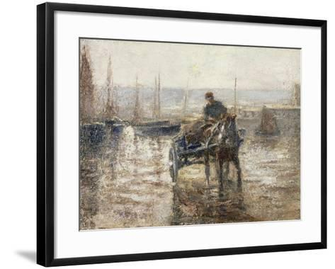 On the Harbour-Harry Fidler-Framed Art Print