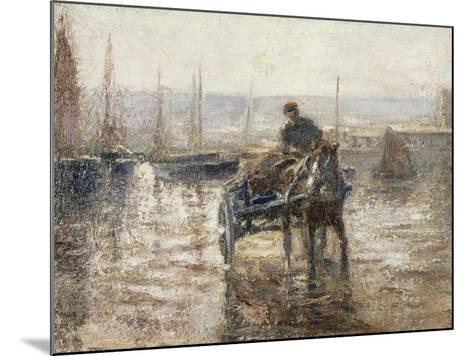 On the Harbour-Harry Fidler-Mounted Giclee Print