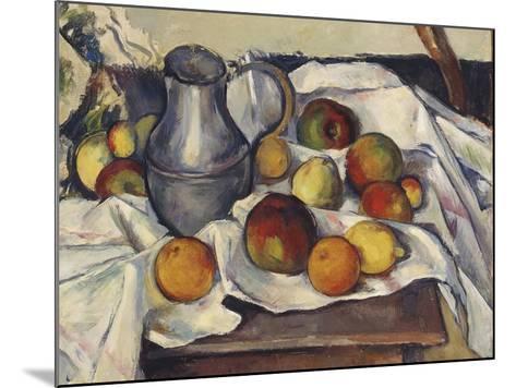 Still Life with Apples; Stilleben Mit Apfeln-Emil Orlik-Mounted Giclee Print
