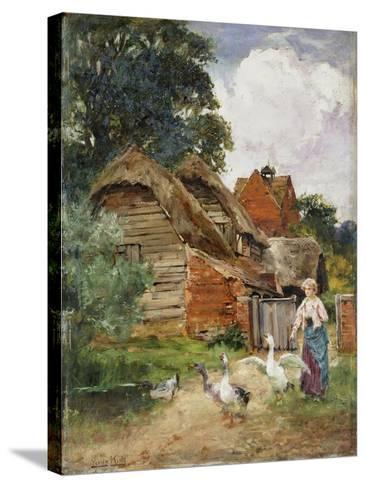 Intruders-Henry John Yeend King-Stretched Canvas Print