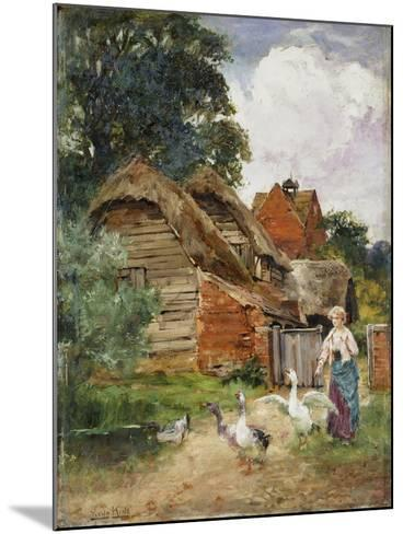 Intruders-Henry John Yeend King-Mounted Giclee Print