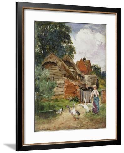 Intruders-Henry John Yeend King-Framed Art Print