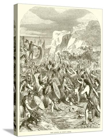 The Landing of Julius Caesar--Stretched Canvas Print