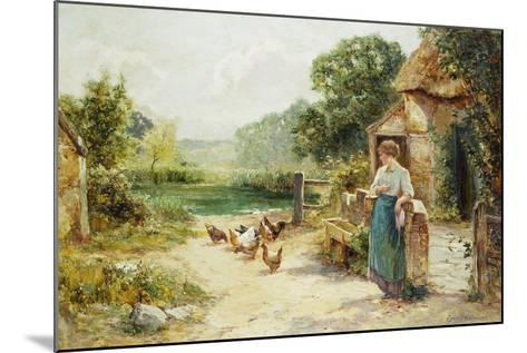 Feeding Time-Ernest Walbourn-Mounted Giclee Print