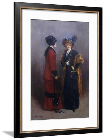 Hors Concours - Les Midinettes-Jean B?raud-Framed Art Print
