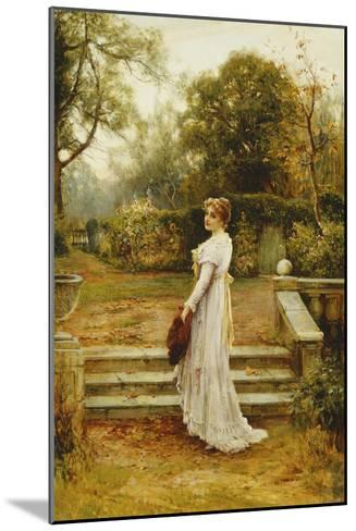 A Stroll in the Garden-Ernest Walbourn-Mounted Giclee Print