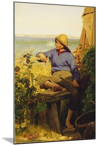 The Sailor, 1874-Carl Bloch-Mounted Giclee Print